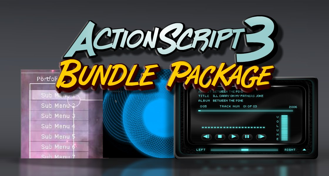 Click to view Actionscript 3 Development Bundle Package