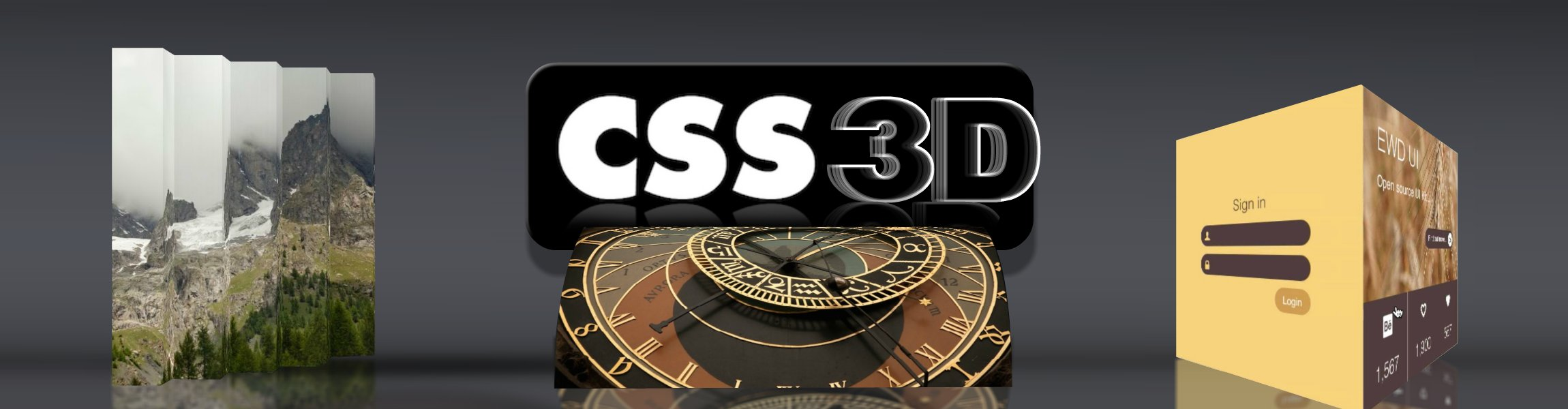 Click to view Explore the 3D Aspects of CSS with this Tutorial Series!