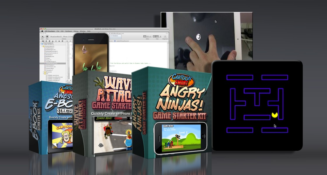 Click to view iOS Starter Kit & Video Tutorial Bundle