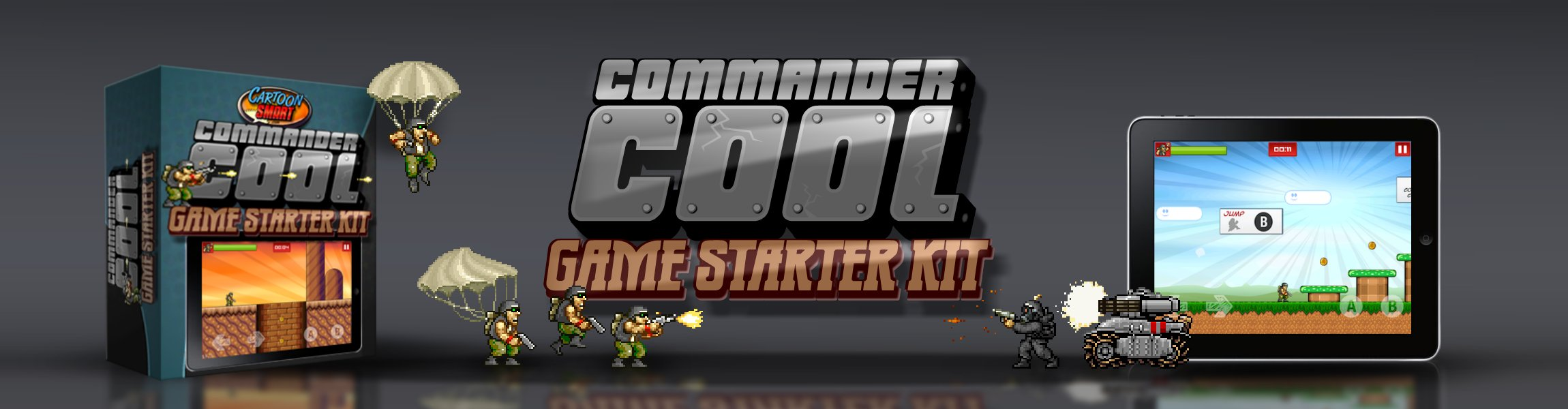 Click to view Commander Cool iOS/Mac Starter Kit