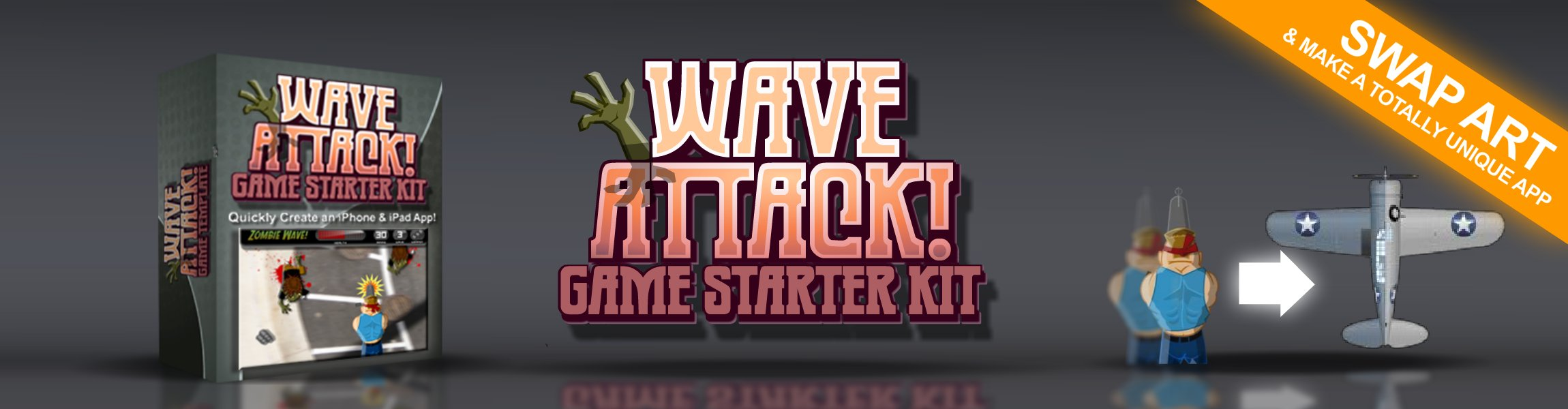 Click to view Wave Attack iOS Starter Kit