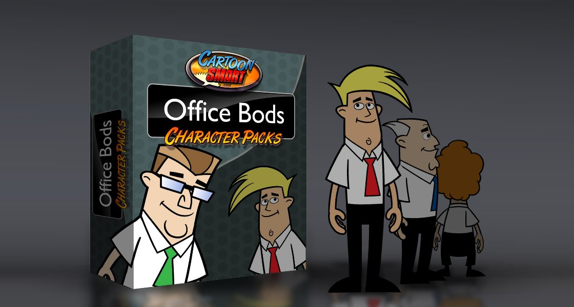 Click to view Office Bods Royalty Free Art Collection