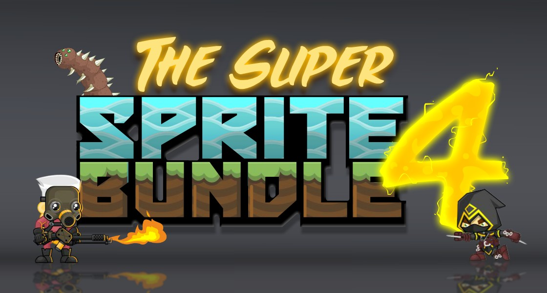 Click to view The Super Sprite Bundle 4 - 14 Packages of Royalty Free Game Art