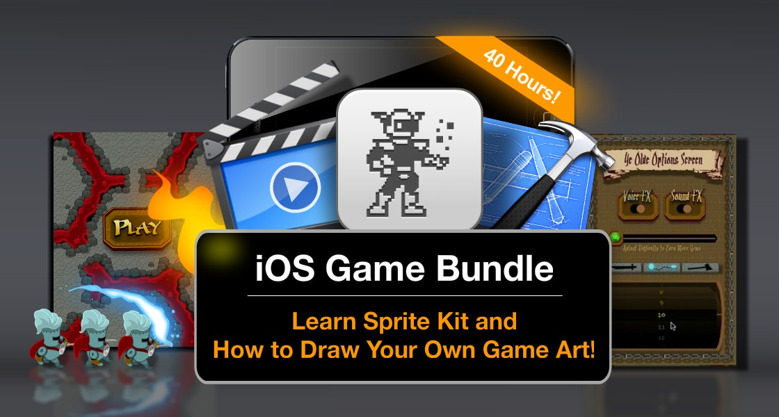 Click to view Limited Time Discount - iOS7 Sprite Kit and Game Art Bundle