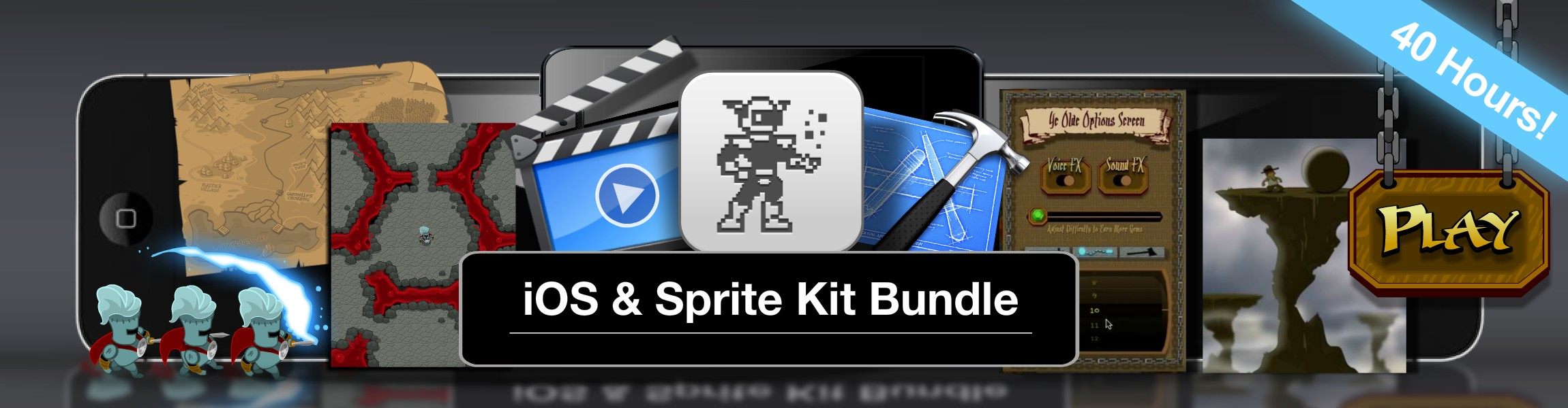 Click to view Limited Time Discount - iOS Sprite Kit and Game Art Bundle