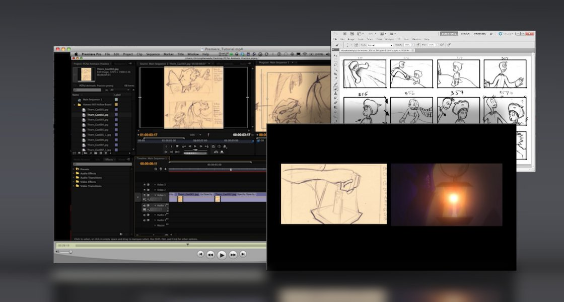 Click to view Professional Storyboards and Animatics Tutorial