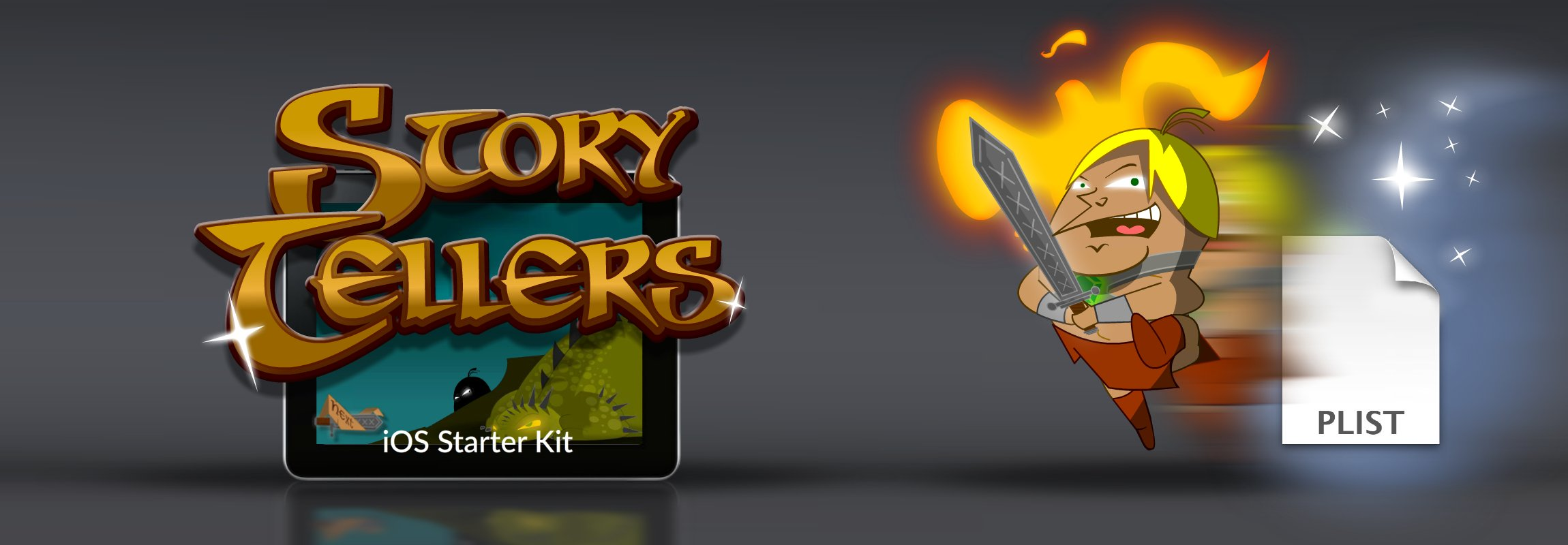 Click to view Story Tellers iOS Starter Kit
