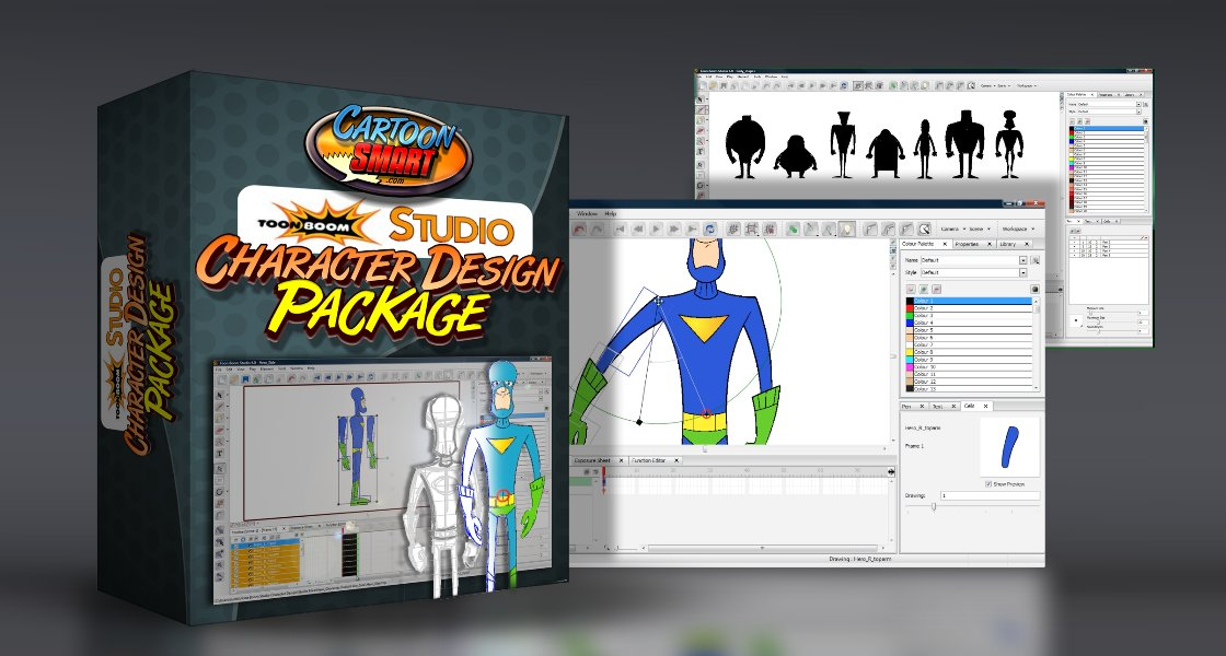 Click to view Toon Boom Studio: Character Design Tutorials