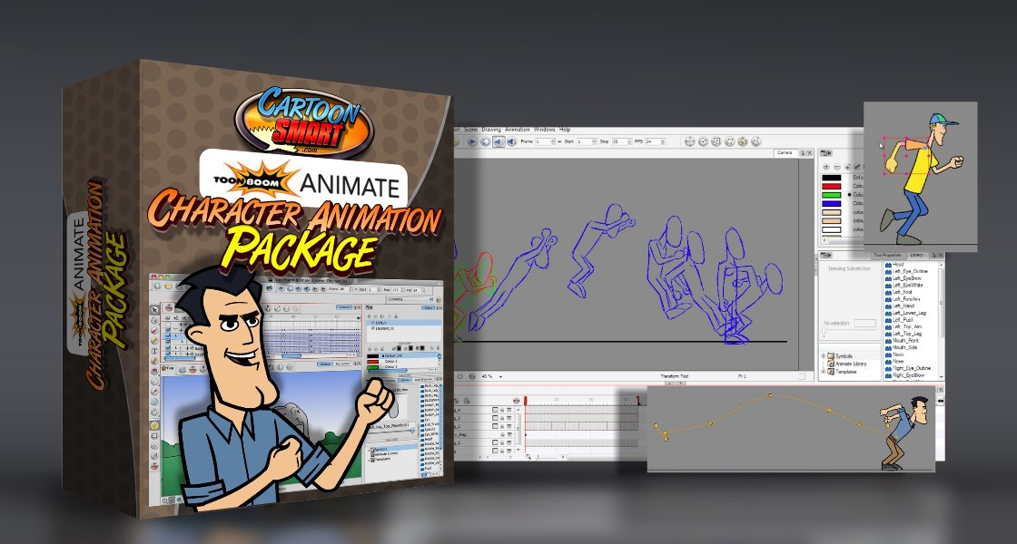 Click to view Toon Boom Animate: Character Animation Tutorials